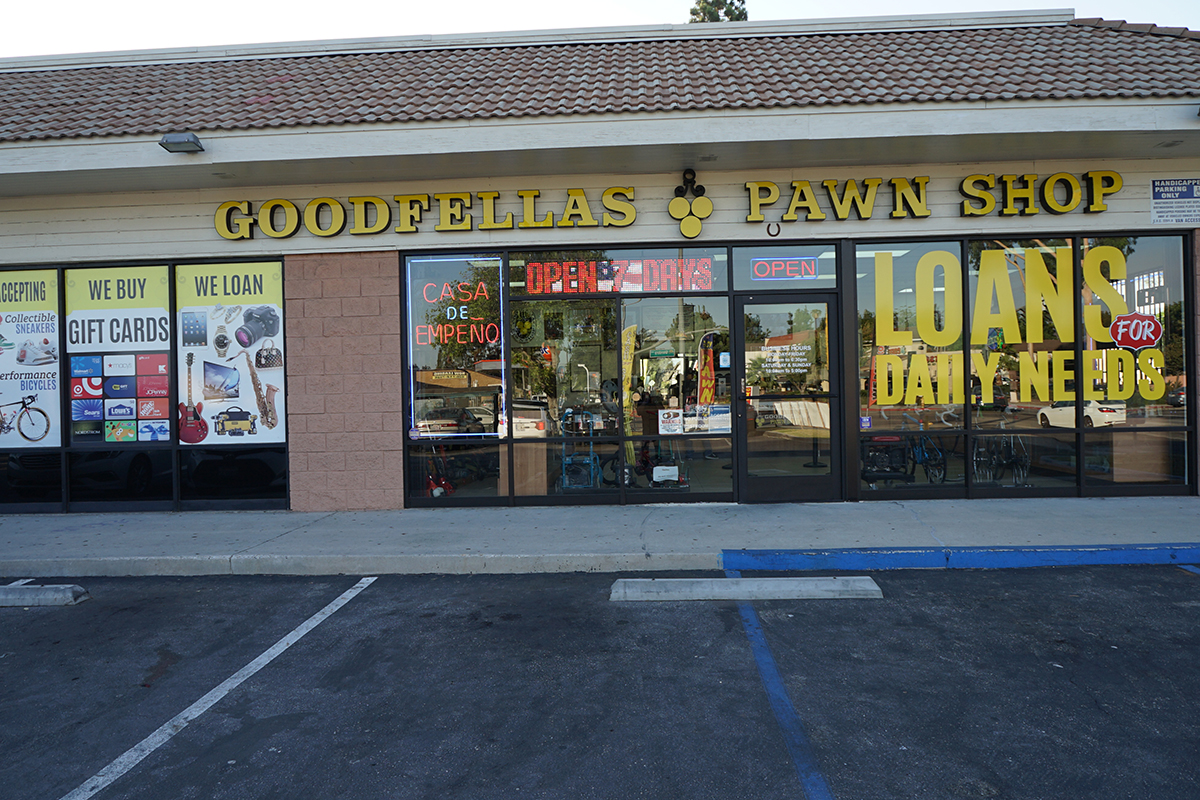 Contact Your Local Pawnbrokers | Goodfellas Pawn Shop